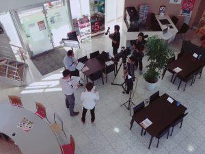 TV撮影2